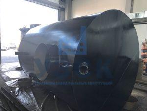 Резервуар горизонтальный стальной наземный в Гюмри