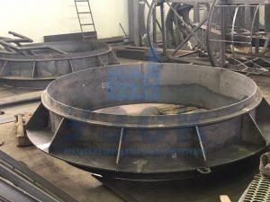 Клапан типа ПГВУ по чертежу заказчика в Гюмри