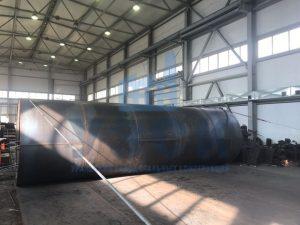 Резевуар вертикальный стальной в Абовяне