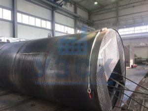 Резервуар РВС стальной вертикальный 400 кубов в Гюмри