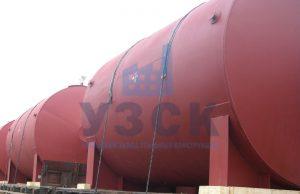 Горизонтальный резервуар РГС для ГСМ в Гюмри