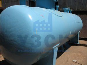 Резервуар РГС, емкость для газового конденсата с сферическими днищами в Абовяне
