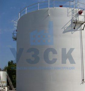 Резервуар вертикальный стальной 10000 кубов в Гюмри