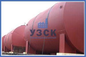 Горизонтальный резервуар РГС для ГСМ в Иджеване