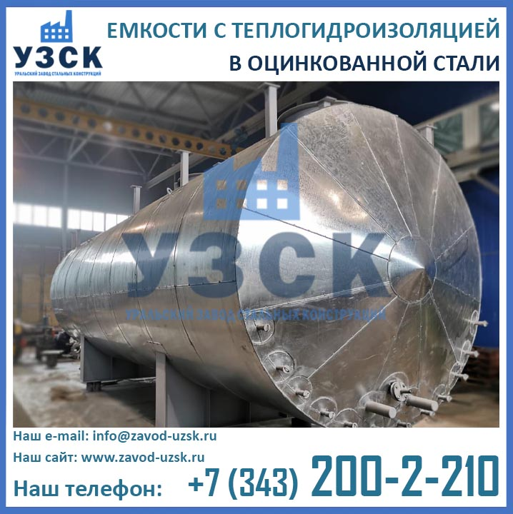 теплоизоляция с покрытием из оцинкованной стали