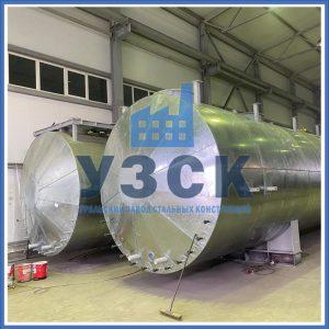 фото резервуара РГС-100 в теплоизоляции